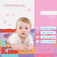 Playmats Floor Gyms Baby Products 23pcs Foam Floor Tiles Interlocking Crawling Mat Rstant Baby Puzzle Mats Foam Play Mat With Fence