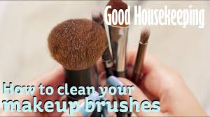 how to clean makeup brushes good