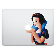 Snow White Macbook Decal V1 Istickr Macbook Decal