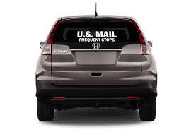 U S Mail Window Decal 6 X 18 Etsy