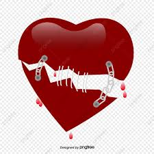 القلوب حزين شكل قلب حسرة Png والمتجهات للتحميل مجانا