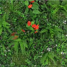 China Interlocking Artificial Grass Hedge Garden Fence Screen China Garden Fence And Artificial Plant Price