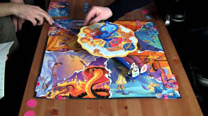 board game aladdin the magic carpet