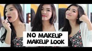 no makeup makeup tutorial indonesia
