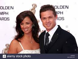 Eric Close and wife Keri Golden Nymph awards ceremony - arrivals ...