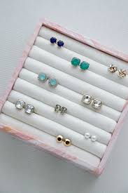 diy ring earring jewelry organizer