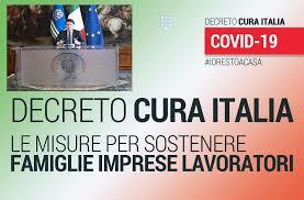 Decreto Marzo Cura Italia in via di pubblicazione: le misure ...