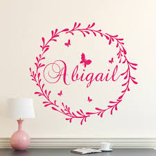 Decal House Personalized Rustic Nursery Wall Decal Wayfair