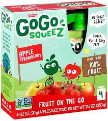 gogo squeez fruit on the go apple