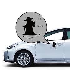 Star Wars Yoda Car Vinyl Decal Sticker Bearbearbearbearshop Com