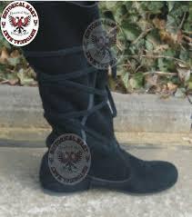 carribean pirate boots black period