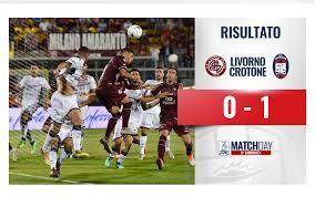 Serie B: Livorno-Crotone 0-1 – Fantapol News Crotone