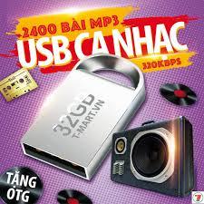 USB ca nhạc 32GB gồm 2500 bài hát MP3 các thể loại Bolero, trữ ...