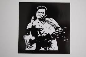 Johnny Cash Sticker Decal 89 Country Rock Music Man In Black Car Bumper Window