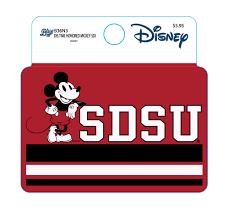 Shopaztecs Sdsu X Disney Sdsu Mickey Decal