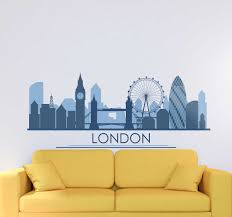 Characteristic Buildings Of London London Decal Tenstickers