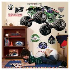Monster Jam Giant Grave Digger Wall Decals Target