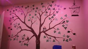 Family Tree Wall Painting Simple And Easy Step By Step Youtube