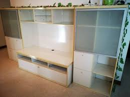 tv console and storage cabinets