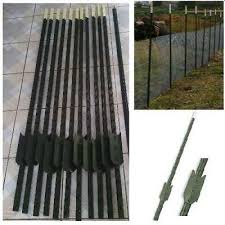 Metal Fencing Pins Pk Of 50 Safety Barrier Fence Stakes 1300mm High 67 50 Picclick Uk