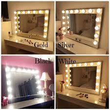 lighted vanity mirror makeup mirror