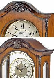 matching bulova wall clock and mantel