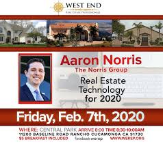 Aaron Norris, The Norris Group, Real Estate Technology for 2020