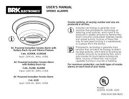 brk electronic 4120 ac user manual 24
