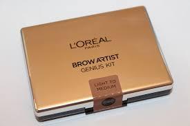 l oreal brow artist genius kit review