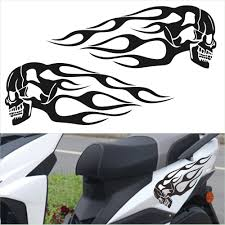 2pcs Flame Sticker Car Sticker Decals Motorcycle Gas Tank Vinyl Auto Decal Vehicle Styling Stickers Car Accessories Buy At The Price Of 2 29 In Aliexpress Com Imall Com