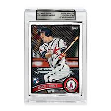 2011 Mike Trout Silver Sticker Reality To Idea