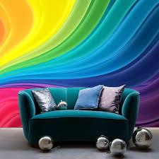 Shop Full Color Waves Of Rainbow Relax Spa Full Color Wall Decal Sticker Sticker Decal 48x65 Overstock 15200160
