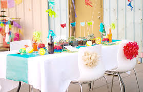 outdoor summer party decorations