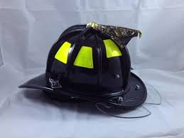 cairns sam houston leather fire helmet