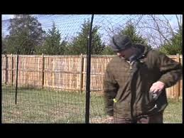 Purrfect Fence Install Video Youtube