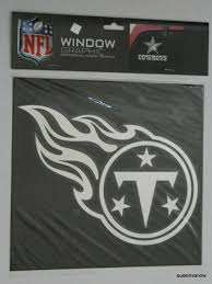 Tennessee Titans Large Chrome Graphic Window Decal Nfl Football Sports Fan For Sale Online Ebay