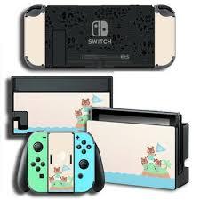 Vinyl Decal Skin Sticker Protector For Nintendo Switch Animal Crossing Ebay