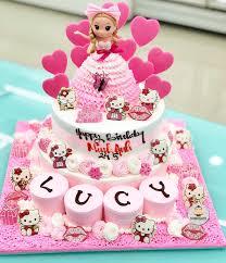 40+ mẫu bánh sinh nhật màu hồng xinh xắn, dễ thương nhất