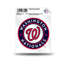 Washington Nationals Static Cling Sticker Decal New Window Or Car Mlb Ebay