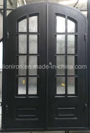 china outswing design iron doors