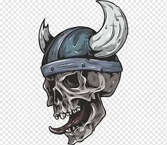 Bicycle Helmets Wall Decal Skull Bumper Sticker Bicycle Helmets Legendary Creature Head Sticker Png Pngwing
