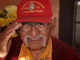 Albert Smith, Navajo Code Talker from New Mexico, passes on