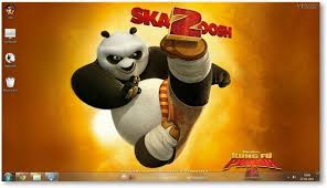kung fu panda 2 windows 7 theme