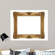Old Antique Picture Frames Wall Decal Wallmonkeys Com