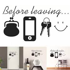 Vova Diy Home Decor Wall Stickers Family Letter Removable Vinyl Decal Art Mural