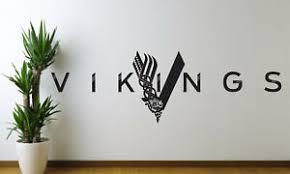 Vikings Logo Mural Words Art Vinyl Wall Sticker Home Kitchen Room Decal Decor Ebay