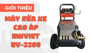 Giới thiệu Máy rửa xe cao áp UNIVIET UV-2200 - THIẾT BỊ RỬA XE UNI VIỆT