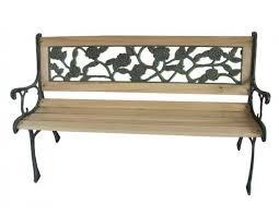 3 seater rose style garden bench