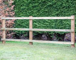 Choose Style Of Post Rail Fence Kudos Fencing Ltd