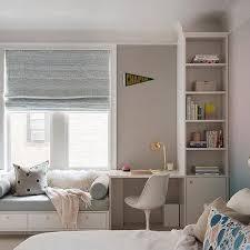 Kids Room Built In Window Seat Design Ideas
